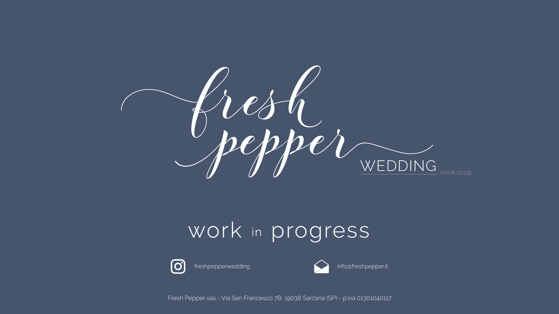 Fresh Pepper Wedding